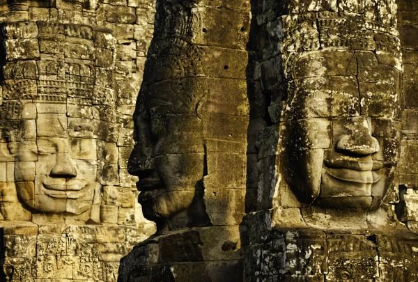 20110216_Cambodia_2177 Bayon 3 Faces
