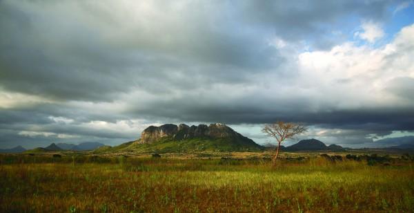 Malawi, Nr Dedza, Khulungira village