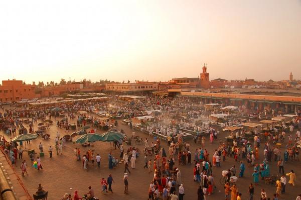 Maroc_Marrakech_Jemaa-el-Fna_Luc_Viatour