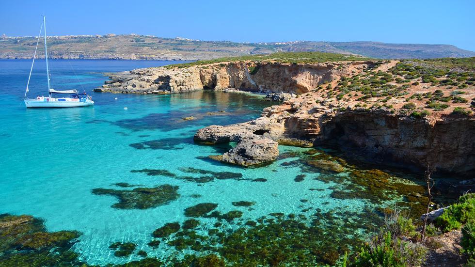 malte plage paradisiaque - Photo