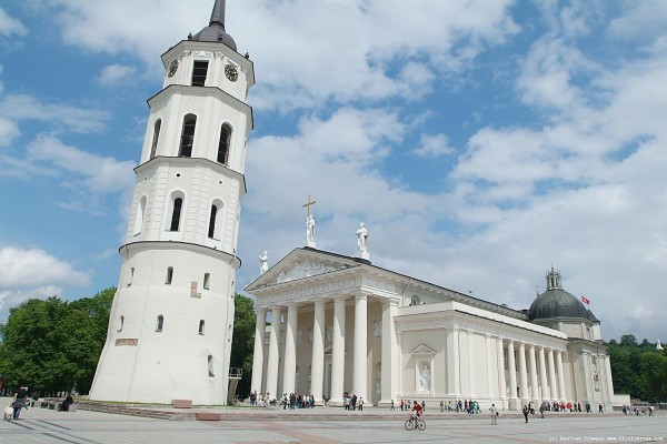 Vilnius cathedral basilica ST. Stanislaus and ST. Vladislaus.
